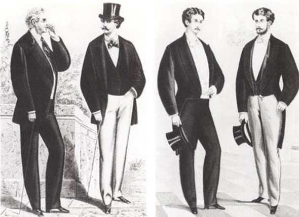 История мужских брюк