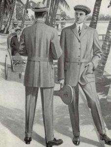 История пиджака