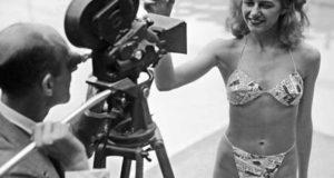 Мишелин Бернардини в бикини от Луи Реара