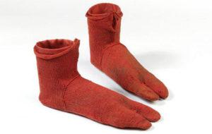 Вязаные носки 300—499 годов
