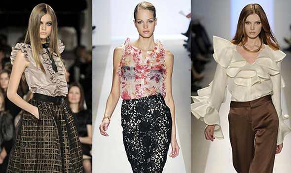 История блузки