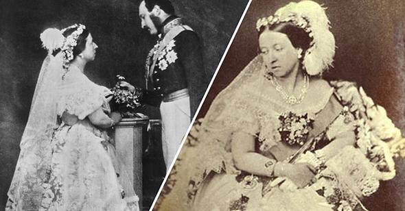 Свадебное платье королевы Виктории