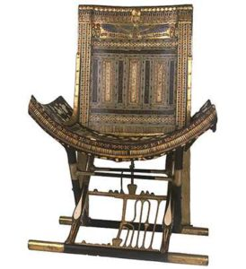 Трон из гробницы фараона Тутанхамона