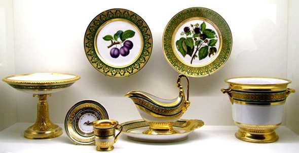 Посуда королевских дворов