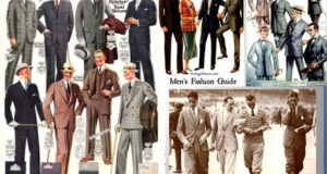 История мужского костюма