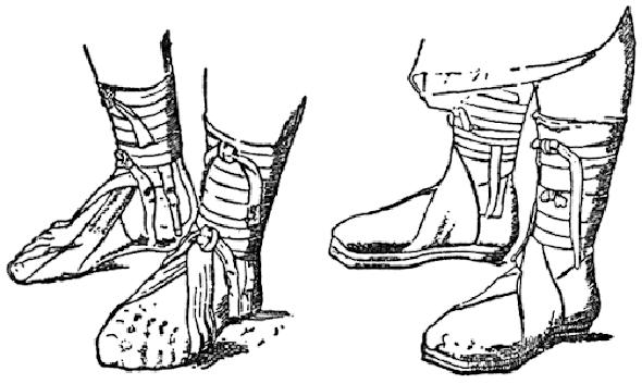 Древнеримская обувь